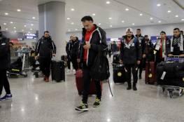 المنتخب الأولمبي يصل الصين استعداداً لنهائيات بطولة آسيا