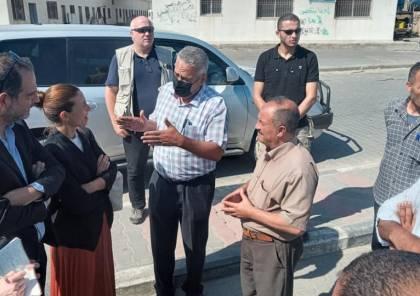 وفد أوروبي يزور ميناء غزة ويطلع على معاناة الصيادين