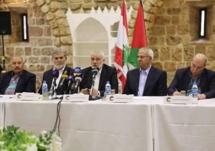 حماس تكشف عن تفاصيل لقاء وطني عقدته مع الفصائل الفلسطينية في بيروت