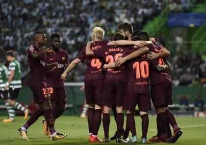 فيديو.. برشلونة يحقق فوز باهت على لشبونة