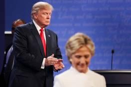 ترامب يضرب كلينتون بكرة جولف في تسجيل مصور (شاهد)