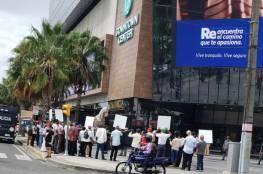 وقفة تضامنية مع شعبنا أمام السفارة الإسرائيلية في سان دومينغو