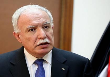 المالكي: تحضيرات لطرح مشروع قرار أممي ضد الخطة الأمريكية