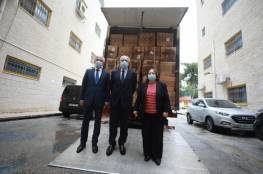 """وزارة الصحة تتسلم شحنة مساعدات طبية من تركيا لمواجهة """"كورونا"""""""
