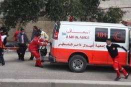 جنين: 8 اصابات بحادث سير