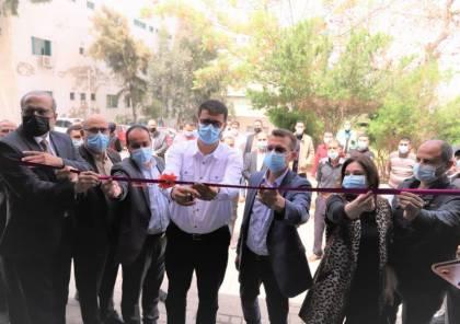 شاهد: الصحة بغزة تدشن محطة لإنتاج الأكسجين بمجمع الشفاء الطبي