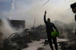غزة: لجنة التحقيق بحريق النصيرات توصي بإقالة عدد من الموظفين وتُعلن عن قرارات حازمة!!