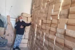 """ضبط 8 آلاف جهاز """"راوتر"""" اسرائيلي ممنوع من التداول في نابلس"""
