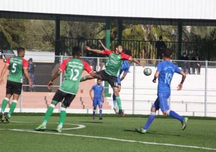5 مباريات في دوري غزة الثلاثاء