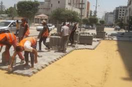 """""""الحكم المحلي"""" تشرع بصيانة مؤقتة للشوارع المتضررة في غزة"""