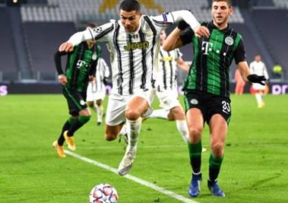 يوفنتوس يهزم فيرنزفاروشي بالوقت القاتل في دوري أبطال أوروبا