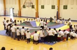 الاسبوع الاولمبي الوطني يواصل فعالياته بنشاط مركزي متنوع في جامعة النجاح