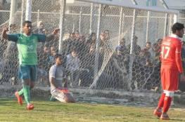خدمات رفح يشعل المنافسة في دوري غزة