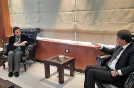 تفاصيل لقاء السفير عبد الهادي مع وزيرة الشؤون الاجتماعية السورية
