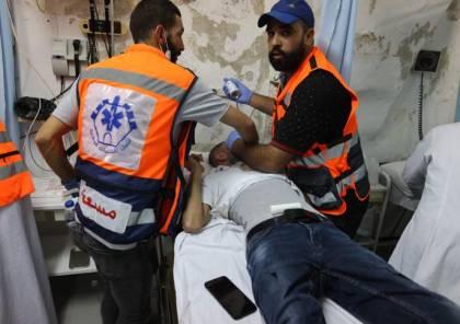 205 اصابة معظمها بالعيون والوجه خلال مواجهات مع قوات الاحتلال في القدس (صور وفيديو)