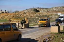 الاحتلال يشدد إجراءاته العسكرية على حاجز بيت اكسا وينصب حاجزا على طريق النفق