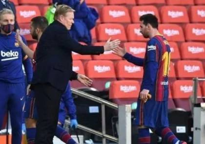 برشلونة يتحرك لضمان تواجد كومان أمام أتلتيكو مدريد