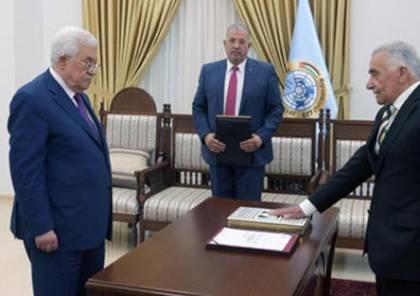 أبو شرار يؤدي اليمين القانونية أمام الرئيس رئيساً لمجلس القضاء الأعلى