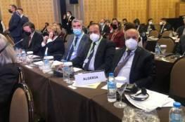 وفد برلماني جزائري يحرج وفدا إسرائيليا في مؤتمر دولي... بهذه الطريقة (صور)