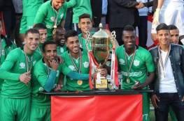 خدمات رفح يفوز في مباراته الرابعة ويلاقي نجوم غزة