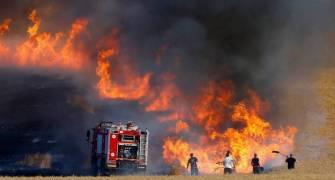حريق- ارشيفية