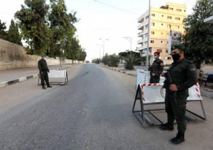 """صور : حظر تجول في غزة لليوم الخامس لمواجهة """"كورونا"""""""