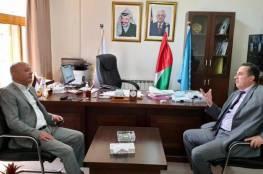 أبو هولي يبحث مستجدات اللجنة الوطنية للتربية والثقافة والعلوم