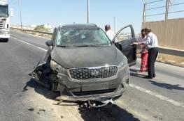 إصابة د. صبري صيدم عضو مركزية فتح بحادث سير في الخليل (صور وفيديو)
