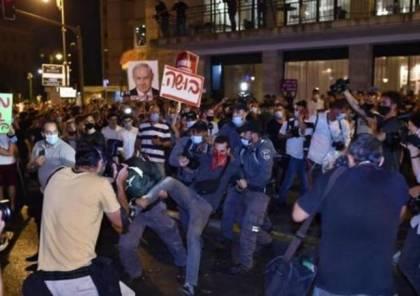 شرطة الاحتلال تسمح بتظاهرة جديدة ضد نتنياهو اليوم