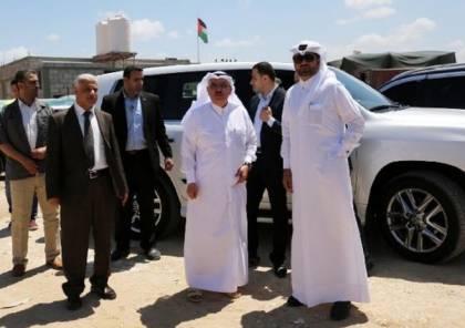 """وصول نائب السفير القطري والوفد المرافق له عبر حاجز """"إيرز"""""""