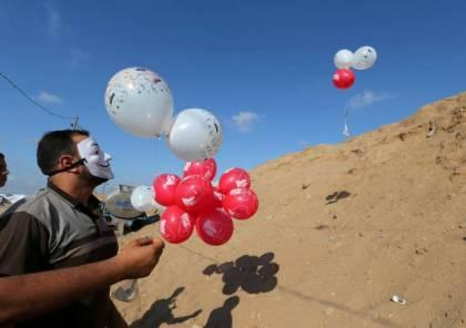 بالصور: ضبط بالونات هيليوم بميناء أسدود كانت متجهة لغزة