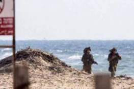 الاحتلال يعتقل فلسطينية جرها البحر إلى كيبوتس زيكيم عند حدود غزة