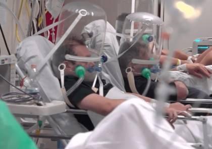 """صحة غزة: 88% من أسرة العناية المكثفة مشغولة بمرضى """"كورونا"""""""
