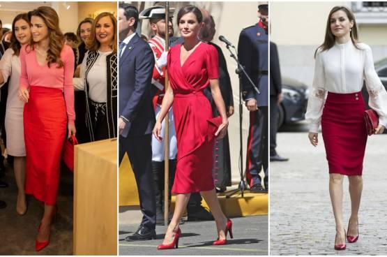 كيفية تنسيق ألوان الملابس مثل الملكات والأميرات
