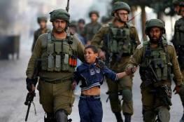 الاحتلال يعتقل 67 قاصر في يناير من العام الحالي