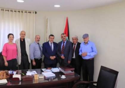 رئيس بلدية بيت لحم يلتقي منتدى أدباء بلاد الشام ويُؤكد على تعاون البلدية