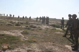 الاحتلال يقمع وقفة منددة بالاستيطان في مسافر يطا