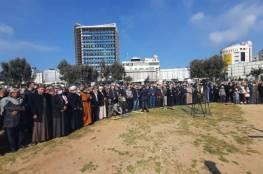 بالصور: تشييع جثمان أحد مؤسسي حركة حـماس إبراهيم اليازوري بغزة