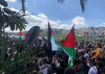 مظاهرتان احتجاجيتان في أم الفحم وقلنسوة ضد الجريمة وتواطؤ الشرطة الإسرائيلية