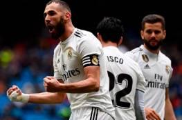 فيديو.. بنزيما يقود ريال مدريد للفوز على إيبار واستعادة نغمة الانتصارات