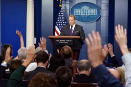 إستقالة المتحدث باسم البيت الأبيض شون سبايسر من منصبه
