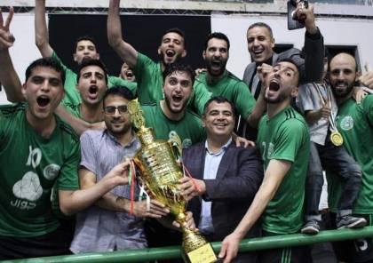 """الصداقة يتزين بلقب كأس """"جمال أبو حشيش"""""""