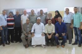 نادي الزيتون يستقبل وفد الاتحاد الفلسطيني المركزي للرياضة للجميع