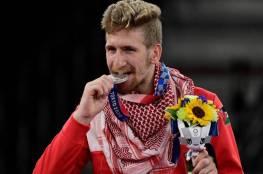 شاهد..كيف احتفلت عائلة الأردني صالح الشرباتي بفضية الأولمبياد؟