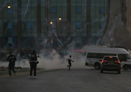 إصابات خلال مواجهات مع الاحتلال أعقبت تظاهرة مساندة للأسرى في بيت لحم