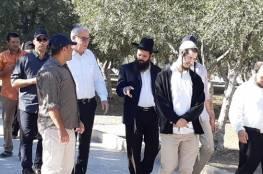 وزير اسرائيلي يتقدم عشرات المستوطنين باقتحام الأقصى