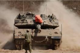 """توغل """"اسرائيلي"""" محدود شرق دير البلح وسط القطاع"""