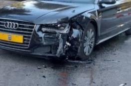 تعرض سيارة نتنياهو لحادث سير في القدس