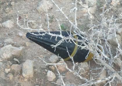 """بالونات متفجرة متصلة بـ""""رأس لقذيفة آر.بي.جي"""" على بعد 60 كيلومترا من غزة"""
