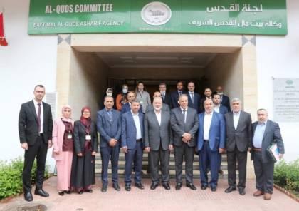 صور.. هنية يزور وكالة بيت مال القدس في العاصمة الرباط
